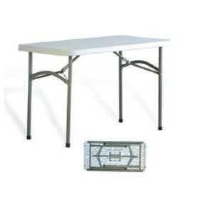 Mesa para cátering de metal