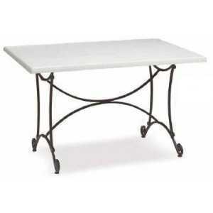 Pie de mesa Almuñecar rectangular