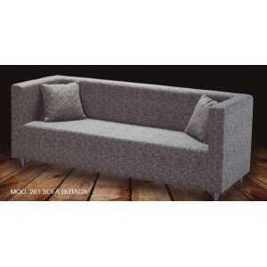 Sofá Wopa tapizado de 2Plz