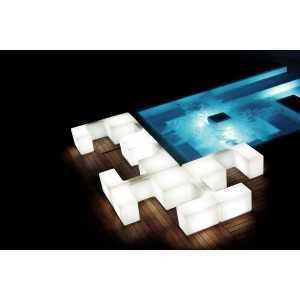 Composición tetris para exterior