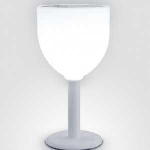 Mesa Copa con iluminación