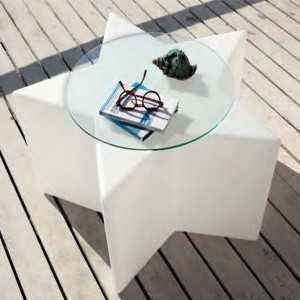 Mesa Estrella ideal para exteriores