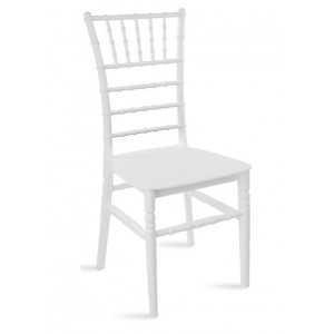 Chaise Tiffany en couleur blanc idéal pour les événements