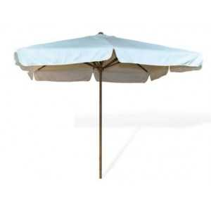 Parasol para hostelería imitación Madera