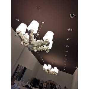 Lámpara de estilo barroco Pia