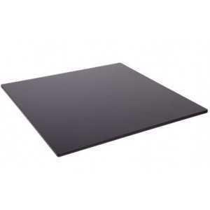Tablero compaco de 70x70 cm negro