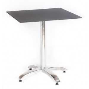Mesa de 70x70 cm con tablero compacto