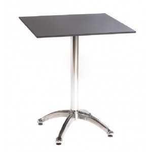 Mesa 70x70 tablero compacto para hostelería