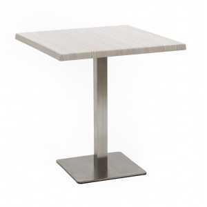 Mesa E19 con tablero compacto de 70x70