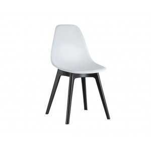 Chaise d'inspiration Eames Blanc