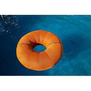 Puf modelo Donut tela 3D para exterior