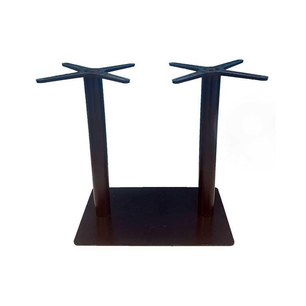 Pie de mesa tubo redondo